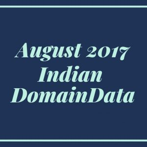 August 2017 Indian Domaindata