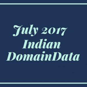 July Domain Data 2017