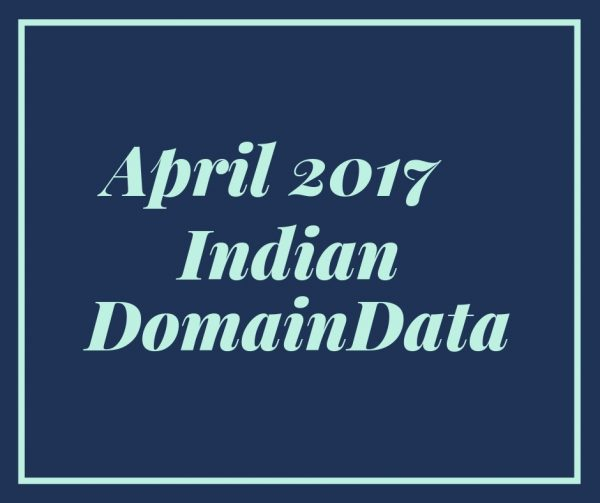 April 2017 Indian Domaindata