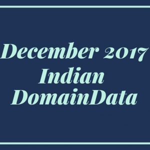 December 2017 Indian Domaindata