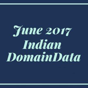 June 2017 India Domaindata
