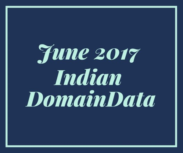 June 2017 India Domaindata