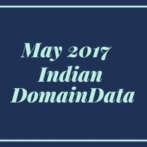May 2017 Indian Domaindata
