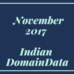 November 2017 Indian Domaindata