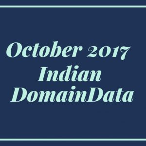 October 2017 Indian Domaindata