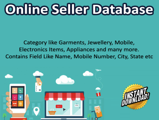 Online Sellers Database